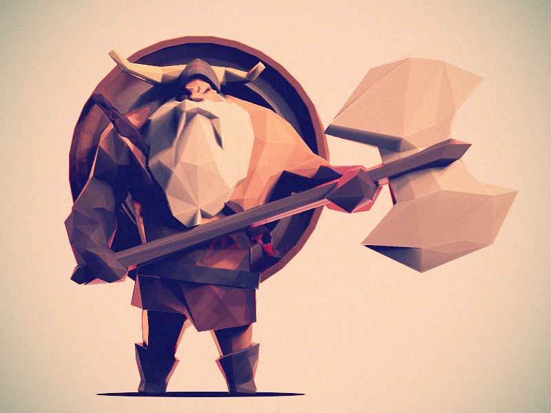 Personnages en Low Poly