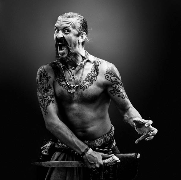 Portraits de Hells Angels, le gang de bikers