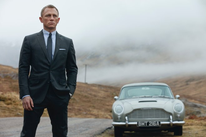 James Bond Skyfall db5