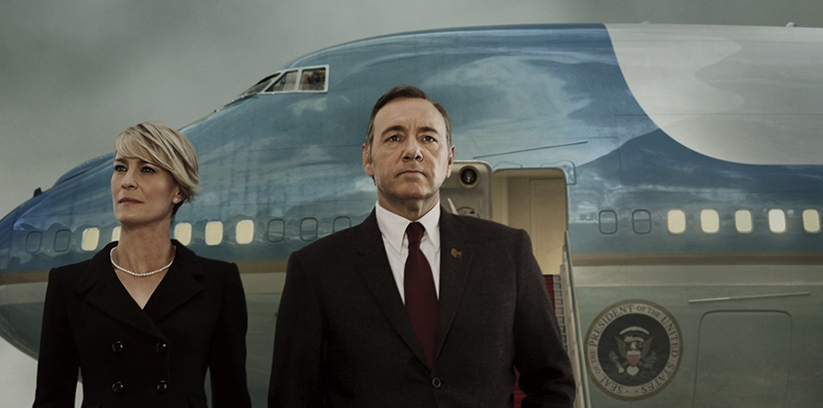 House of cards air force one