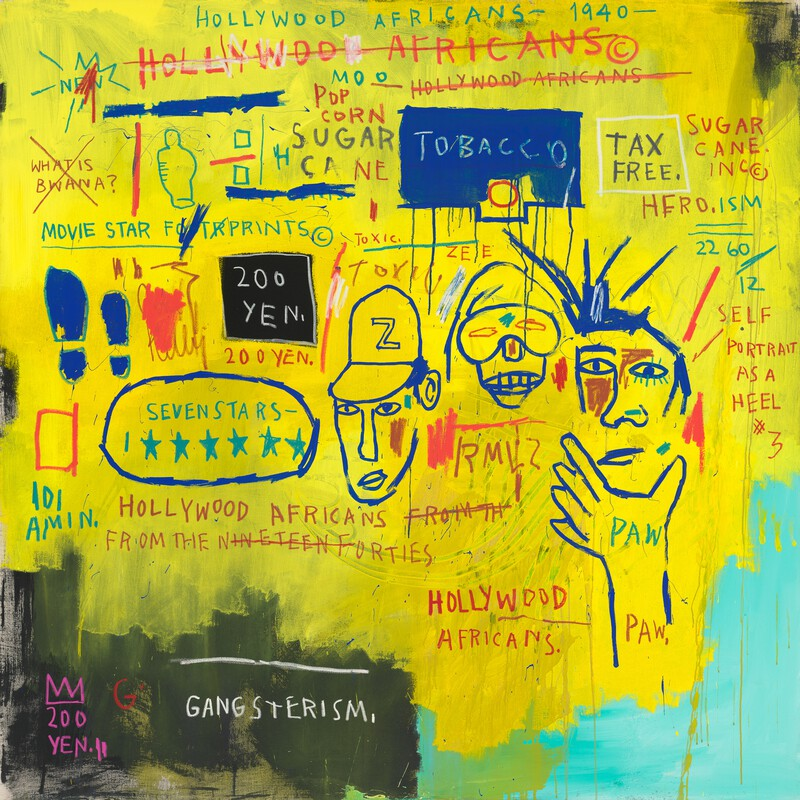 Hollywood Africans Basquiat