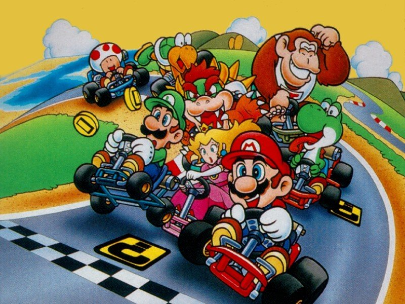les origines de mario kart. Black Bedroom Furniture Sets. Home Design Ideas