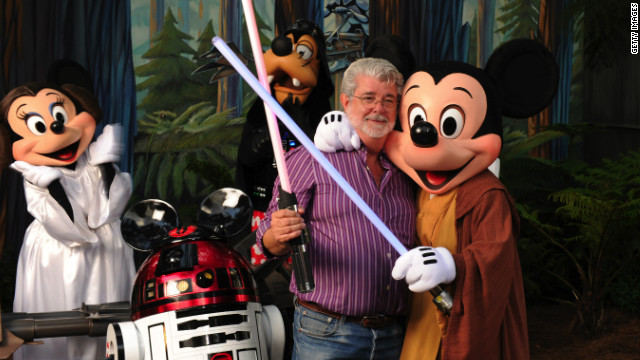 George Lucas Disney Star wars