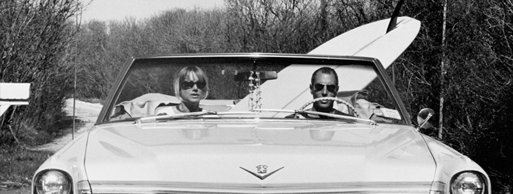Michael Dweck Dave and Pam in their Caddy, Montauk, 2002