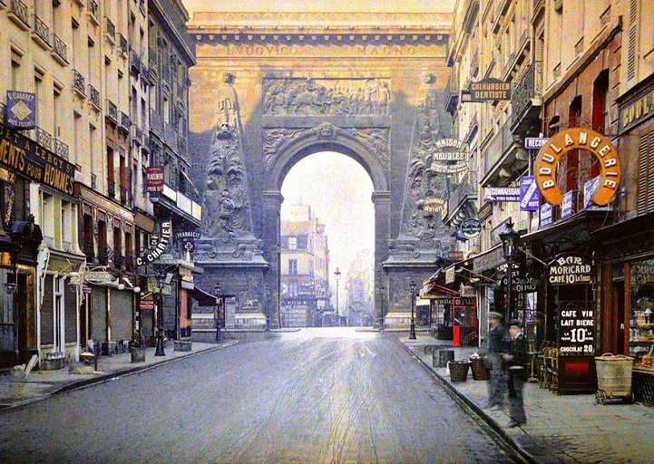 albert kahn paris 1914 archives de la planete