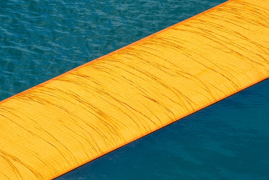 the floating piers christo