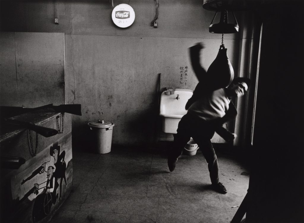 Tōmatsu Shōmei,Editor, Takuma Nakahira, Shinjuku, Tokyo, 1964. Credit:© TōmatsuShōmei–INTERFACE/ Collection of The Art Institute of Chicago