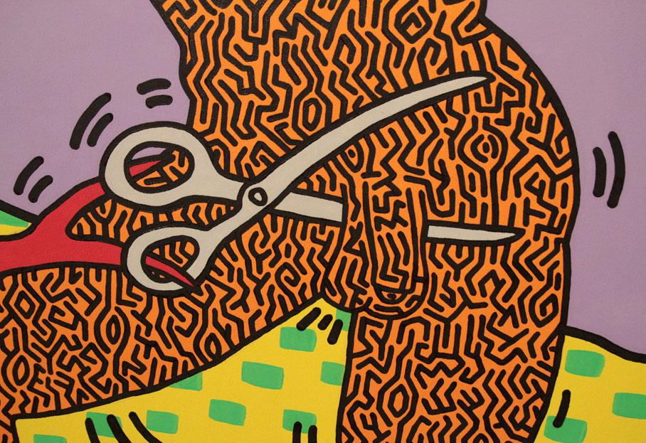 keith haring pop art