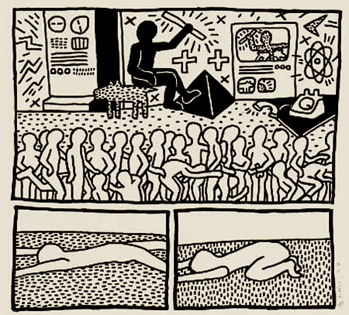 keith haring décadence