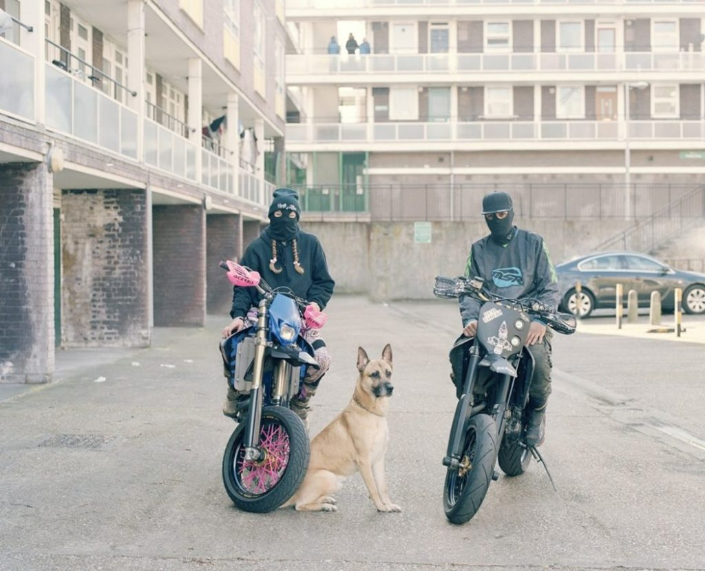 Les gangs de bikers londoniens par Spencer Murphy